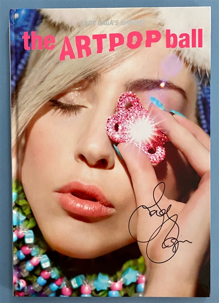 Lady Gaga Ultra Rare Signed Special Edition 2014 Artpop Ball Hardcover Tour Program (Beckett/BAS Guaranteed)