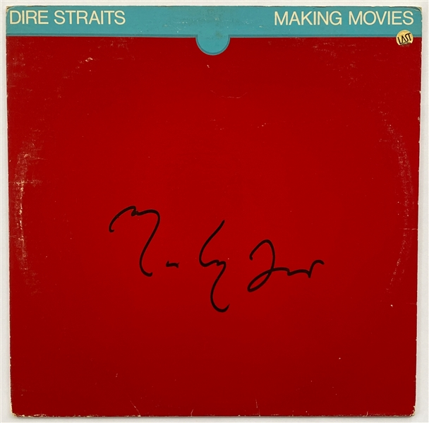 "Dire Straits Mark Knopfler In-Person Signed ""Making Movies"" Record Album (John Brennan Collection) (BAS Guaranteed)"