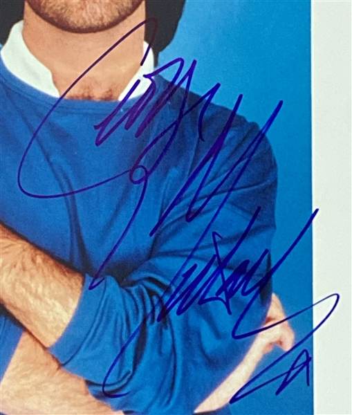 "George Michael In-Person Signed 8"" x 10"" Photograph (John Brennan Collection) (Beckett/BAS Guaranteed)"