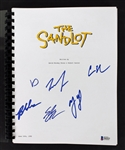 The Sandlot (6) Cast Signed Movie Script (Beckett/BAS)
