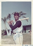 "Roberto Clemente Rare Signed 3.5"" x 5"" Candid Color Photograph (PSA/DNA)"