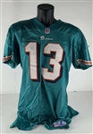 Dan Marino Game Used & Photo-matched 1999 Dolphins Jersey (Marino)