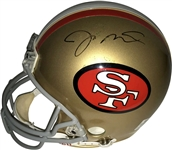 Joe Montana & Jerry Rice Dual Signed 49ers Full Sized PROLINE Helmet (UDA)
