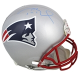 Tom Brady Signed Riddell New England Patriots Proline Game Model Helmet (TriStar Hologram)(Beckett/BAS Guaranteed)