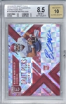 Baker Mayfield Signed 2018 Elite Draft Picks Aspirations Red /20 Rookie Card (Beckett/BGS Graded 8.5 w/ 10 Auto)