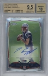 Jimmy Garoppolo Signed 2014 Topps Chrome Rookie Autographs Card (Beckett/BGS Graded 9.5 w/ 10 Auto)