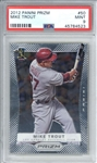 Mike Trout 2012 Panini Prizm #50 Card (PSA Graded MINT 9)