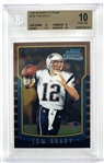 2000 Tom Brady Bowman Chrome #236 - BGS Graded Pristine 10