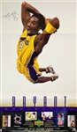 "Kobe Bryant In-Person Signed 23"" x 39"" Upper Deck Promotional Poster (Beckett/BAS LOA)"