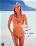 "Bo Derek Signed 11"" x 14"" Color Photo with ""10"" Inscription (ASI COA)(Beckett/BAS Guaranteed)"