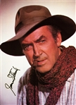 "James Stewart In-Person Signed 8.5"" x 12"" Color Western Photo (Beckett/BAS Guaranteed)"