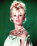 "Brigitte Bardot Signed 8"" x 10"" Color Photo (Beckett/BAS COA)"