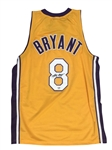 Kobe Bryant Signed Rookie-Era Los Angeles Lakers Jersey (PSA/DNA)