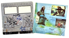 "Bob Marley & The Wailers ULTRA RARE Signed ""Babylon By Bus"" Record Album & Album Sleeve (Beckett/BAS Guaranteed)"
