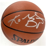 Kobe Bryant Signed Spalding NBA Leather Game Model Basketball with Desirable Silver Autograph (Beckett/BAS LOA)