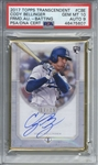 Cody Bellinger Signed 2017 Topps Transcendent /25 Rookie Card (PSA Graded 10 w/ 9 Auto)