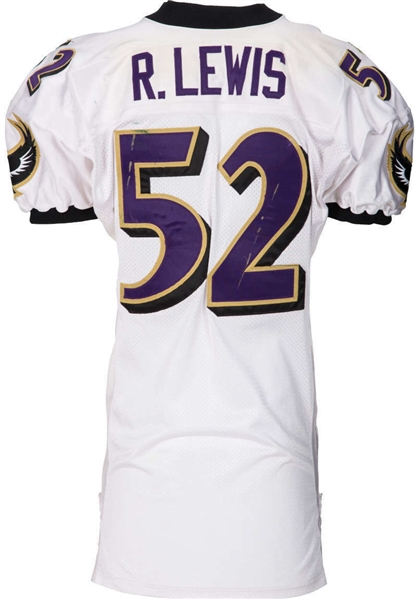 Ray Lewis Game Used 1997 Baltimore Ravens Jersey - 184 Tackle Season! (Sports Investors Authentication)