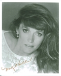 "Margot Kidder Signed 8"" x 10"" B&W Photo (Beckett/BAS COA)"