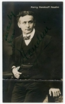 "Harry Houdini Signed Vintage Postcard Photograph from the ""Handcuff"" Period (Beckett/BAS LOA)"