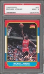 1986 Fleer Michael Jordan #57 Rookie Card :: PSA Graded MINT 9