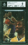 1996-97 Kobe Bryant Flair Showcase Row 0 Rookie Card :: BGS MINT 9 with 9.5 Subgrades!