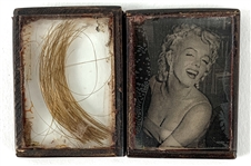 Marilyn Monroe Documented Lock of Her Hair Direct from Her Hairdresser (ex. Kenneth Batelle aka Mister Kenneth)