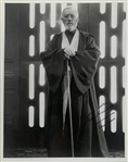 "Star Wars: Sir Alec Guinness Superb Signed 8"" x 10"" Photo as Obi-Wan Kenobi with RARE ""Star Wars"" Inscription (Beckett/BAS LOA)"