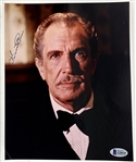 "Vincent Price Signed 8"" x 10"" Color Photo (Beckett/BAS COA)"