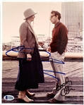 "Annie Hall: Diane Keaton & Woody Allen Dual Signed 8"" x 10"" Color Photo (Beckett/BAS COA)"
