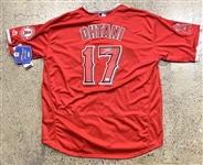 Shohei Ohtani Signed Los Angeles Angels Signed Jersey (PSA/DNA)