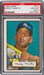 1952 Topps Mickey Mantle #311 PSA 8 NM-MT (O/C)