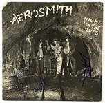 "Aerosmith In-Person Group Signed ""Night in the Ruts"" Album Record (5 Sigs) (John Brennan Collection) (BAS Guaranteed)"