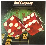 "Bad Company: Paul Rodgers Vintage In-Person Signed ""Straight Shooter"" Album Record (John Brennan Collection) (BAS Guaranteed)"