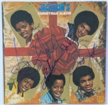 "Jackson 5 In-Person Group Signed ""Christmas Album"" Record Album (5 Sigs) (John Brennan Collection) (JSA Authenticated)"