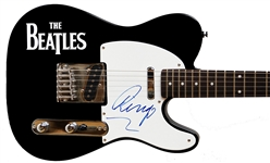 The Beatles: Ringo Starr Signed Telecaster Style Electric Guitar (Caiazzo & Cox LOAs)