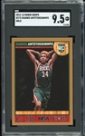 2013-14 Hoops Giannis Antetokounmpo Gold #275 (SGC Mint+ 9.5)