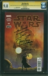 Star Wars #4 Marvel Comic Book Signed by David Prowse, Jeremy Bulloch & Artists :: CGC 9.8 Signature Series