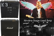 "Nirvana: Kurt Cobain's Personally Owned, Stage-Used, & ""Live & Loud"" Featured Video Amp (Photomatched)(Julien's Provenance)"