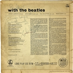 "The Beatles: Paul McCartney, John Lennon & George Harrison Vintage Signed ""With The Beatles"" Parlaphone UK Album (PSA/DNA)"